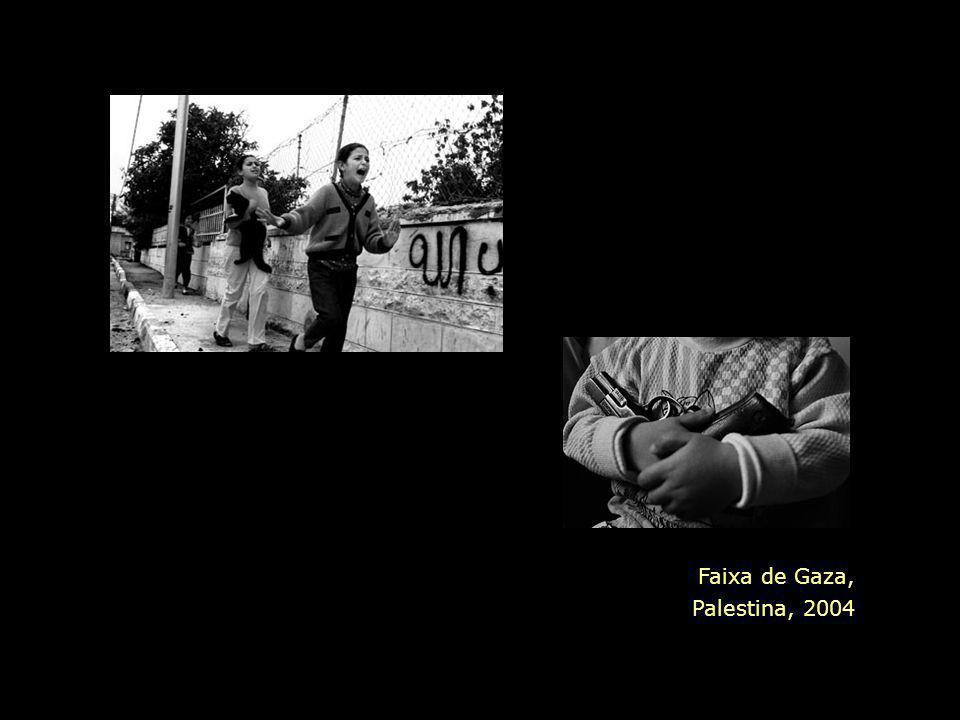 Faixa de Gaza, Palestina, 2004