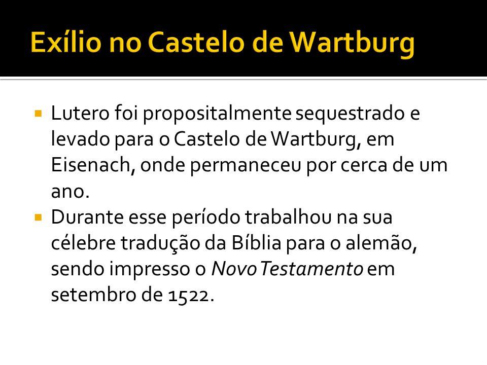 Exílio no Castelo de Wartburg