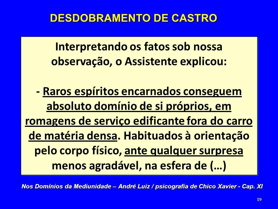 DESDOBRAMENTO DE CASTRO