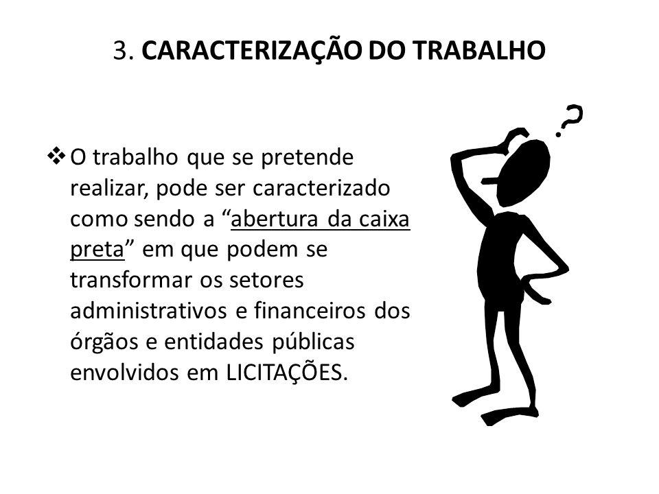 3. CARACTERIZAÇÃO DO TRABALHO