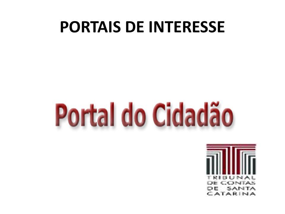 PORTAIS DE INTERESSE