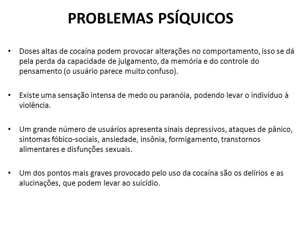 PROBLEMAS PSÍQUICOS
