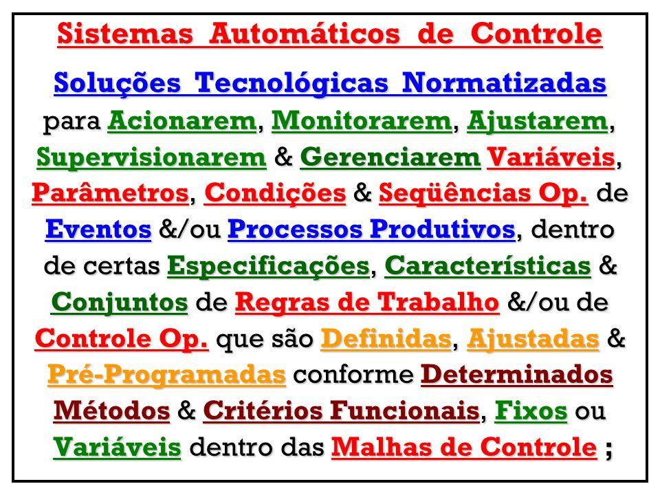 Sistemas Automáticos de Controle