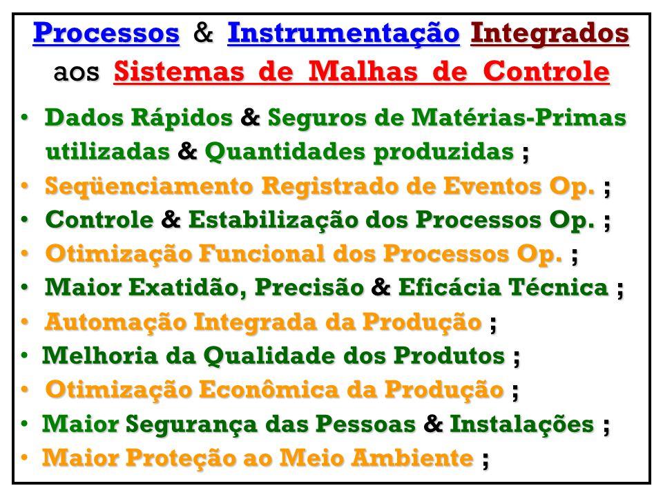 Processos & Instrumentação Integrados