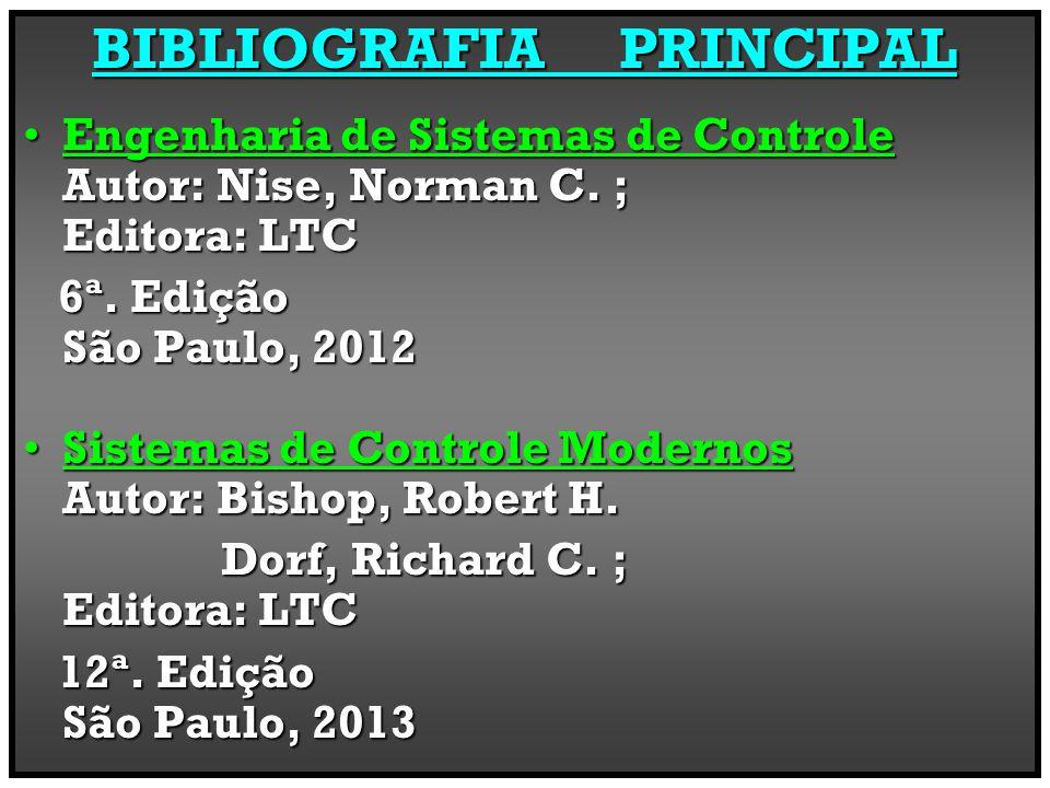 BIBLIOGRAFIA PRINCIPAL