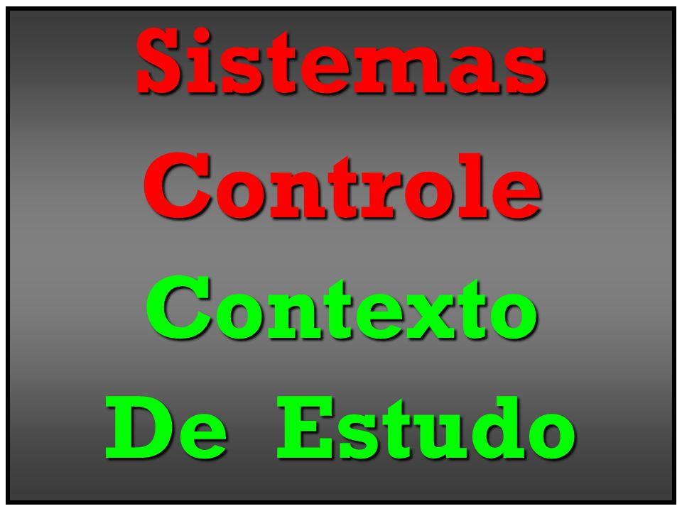 Sistemas Controle Contexto De Estudo