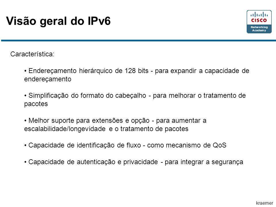 Visão geral do IPv6 Característica: