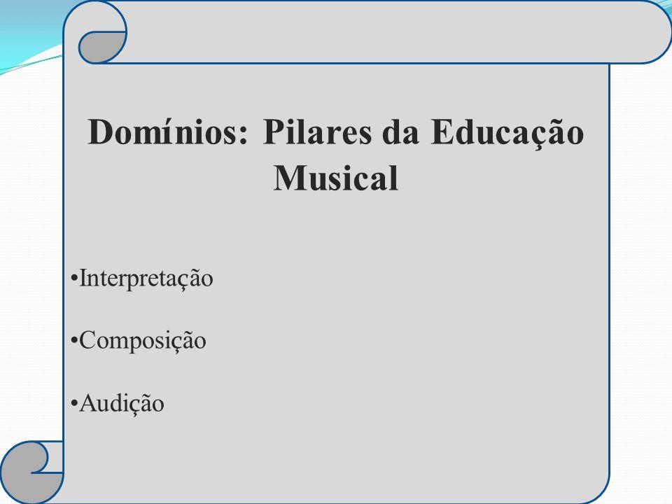 Domínios: Pilares da Educação Musical