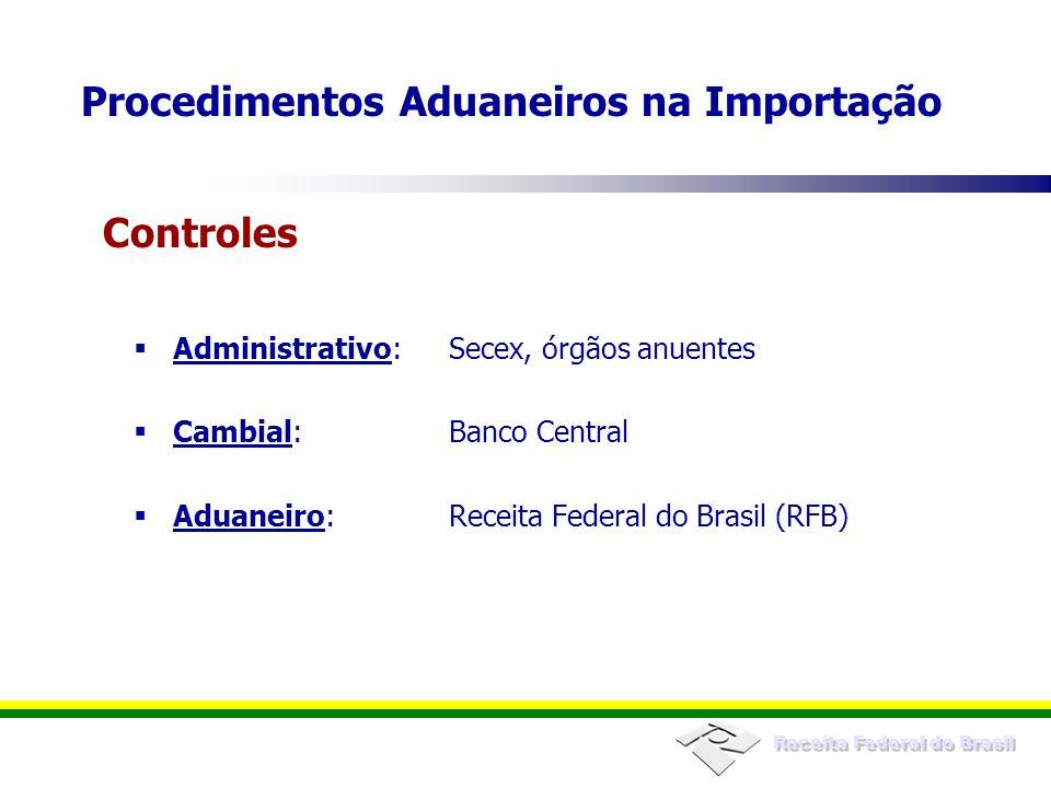 Procedimentos Aduaneiros na Importação