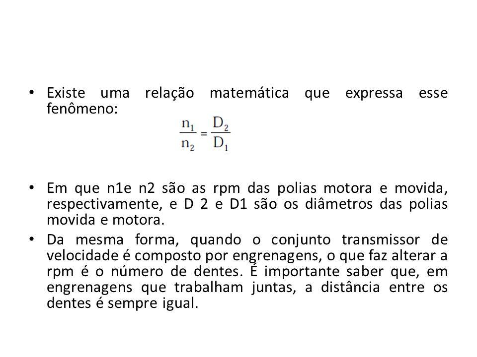 Existe uma relação matemática que expressa esse fenômeno: