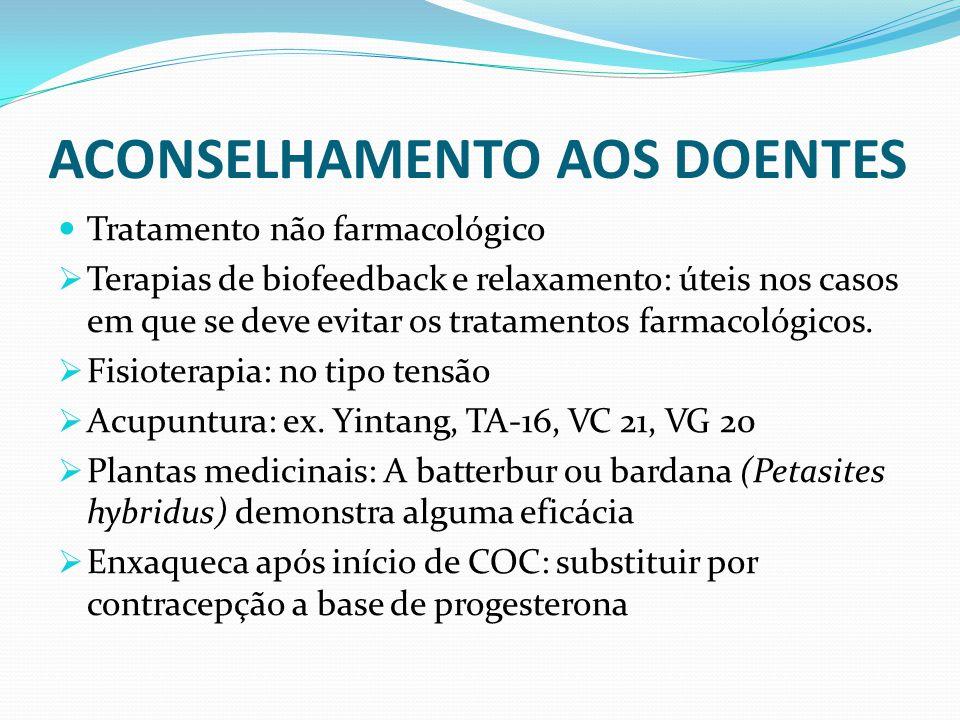 ACONSELHAMENTO AOS DOENTES