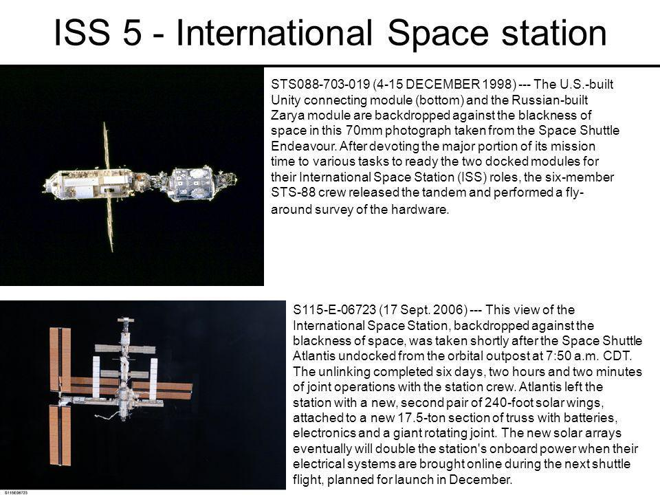 ISS 5 - International Space station