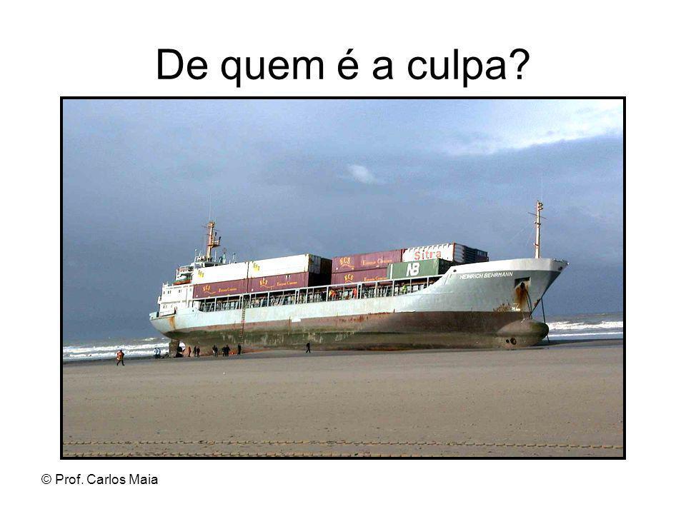 De quem é a culpa © Prof. Carlos Maia