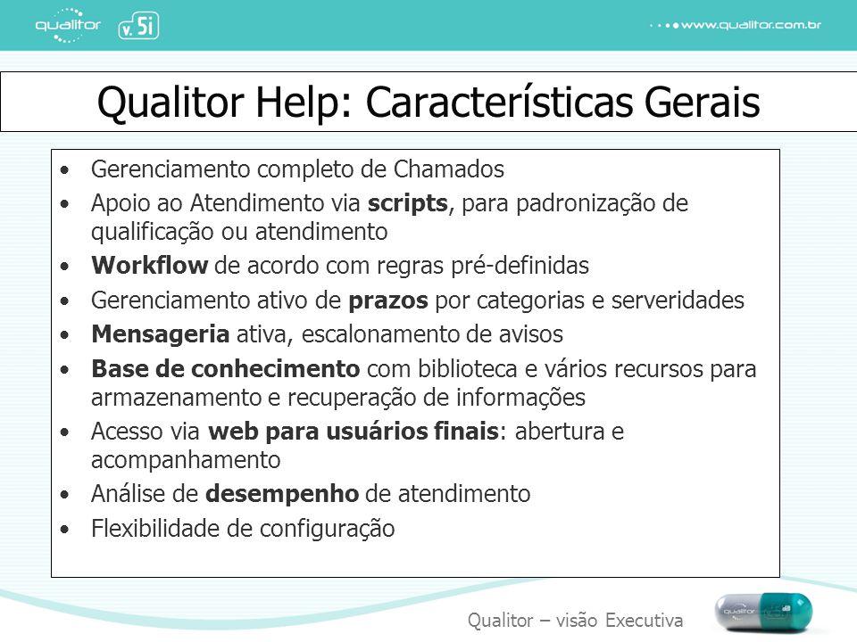 Qualitor Help: Características Gerais