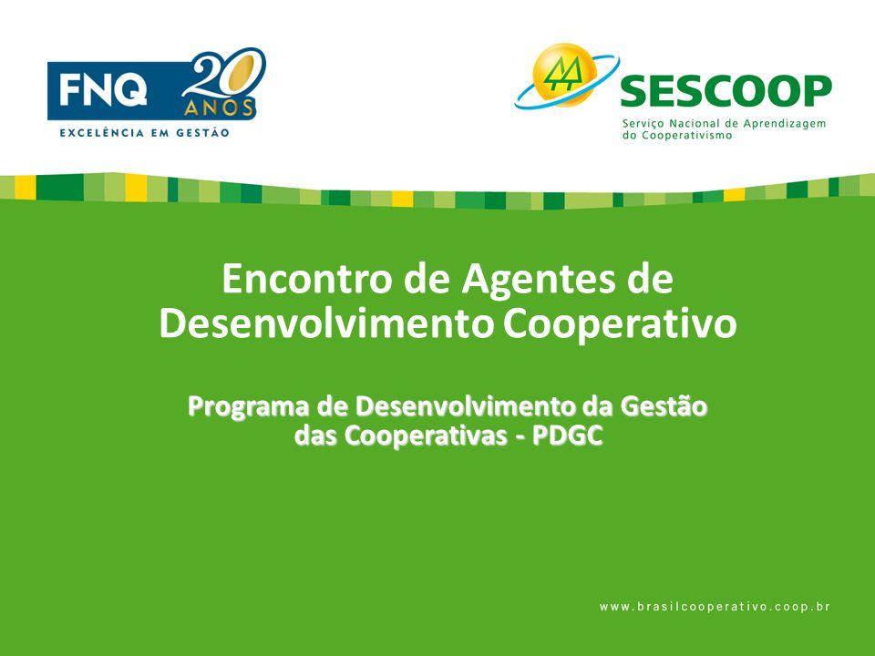 Encontro de Agentes de Desenvolvimento Cooperativo