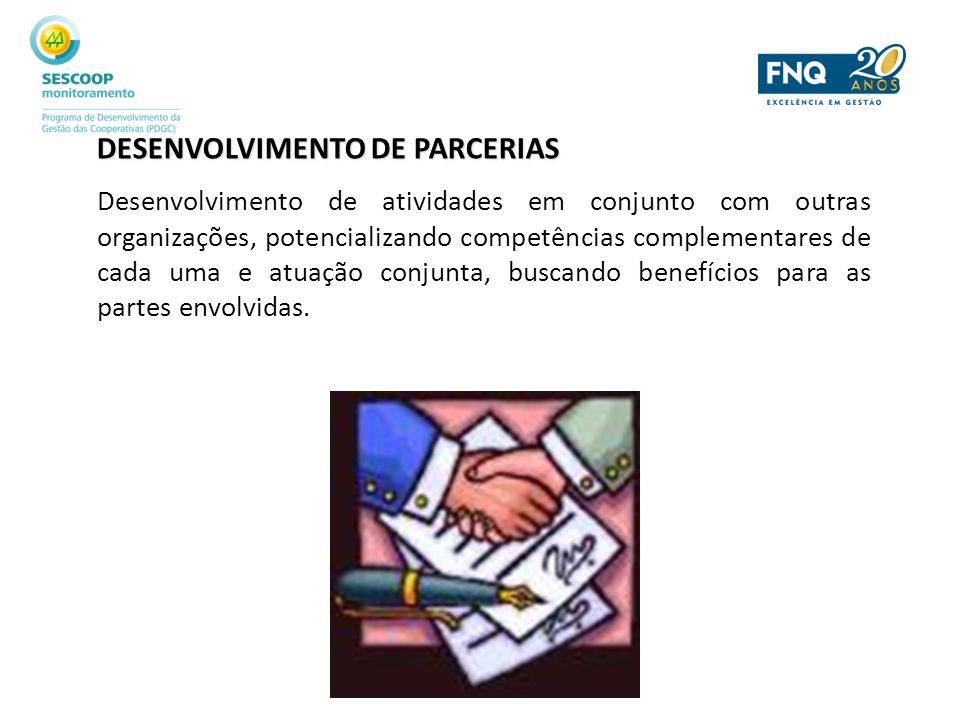 DESENVOLVIMENTO DE PARCERIAS