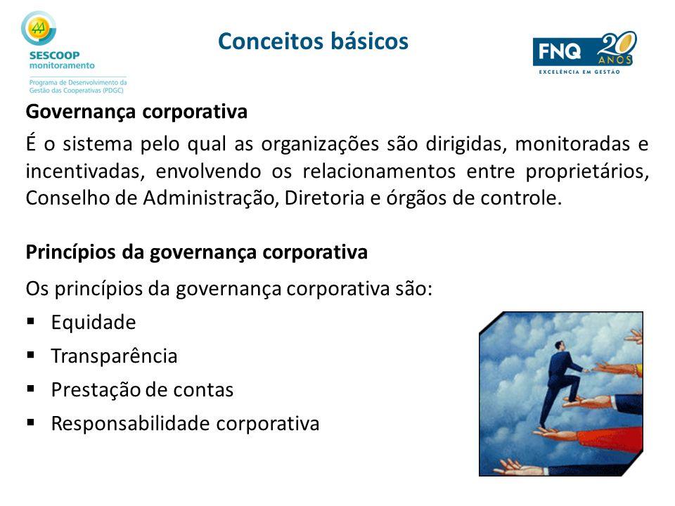 Conceitos básicos Governança corporativa