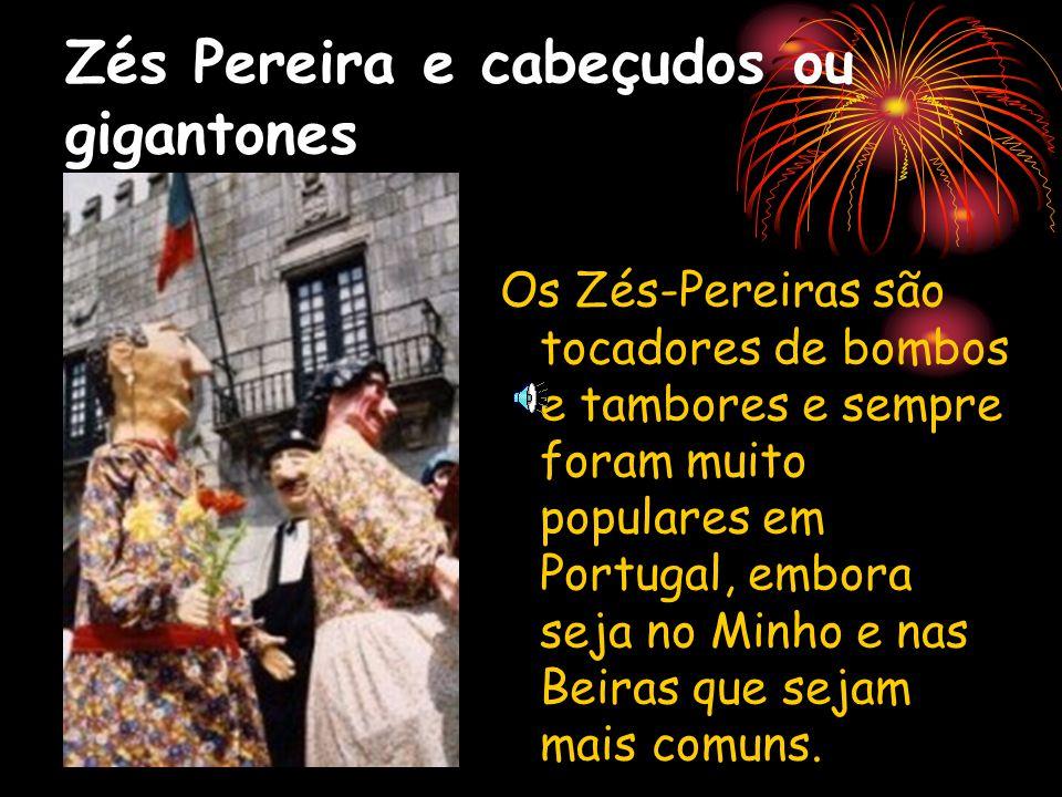 Zés Pereira e cabeçudos ou gigantones