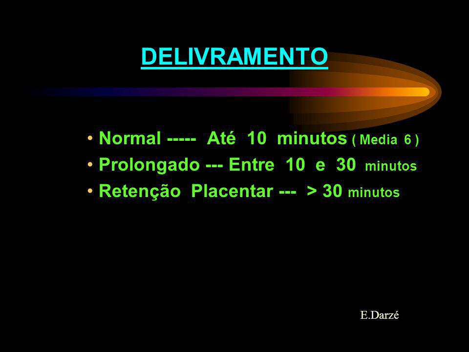 DELIVRAMENTO Normal ----- Até 10 minutos ( Media 6 )