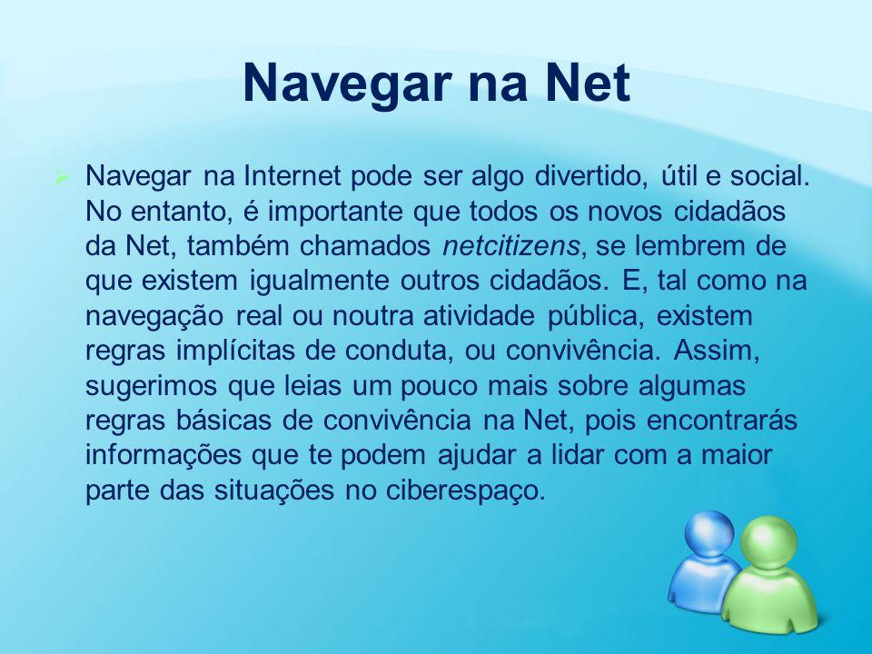 Navegar na Net