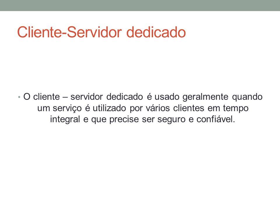 Cliente-Servidor dedicado