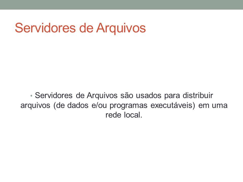 Servidores de Arquivos
