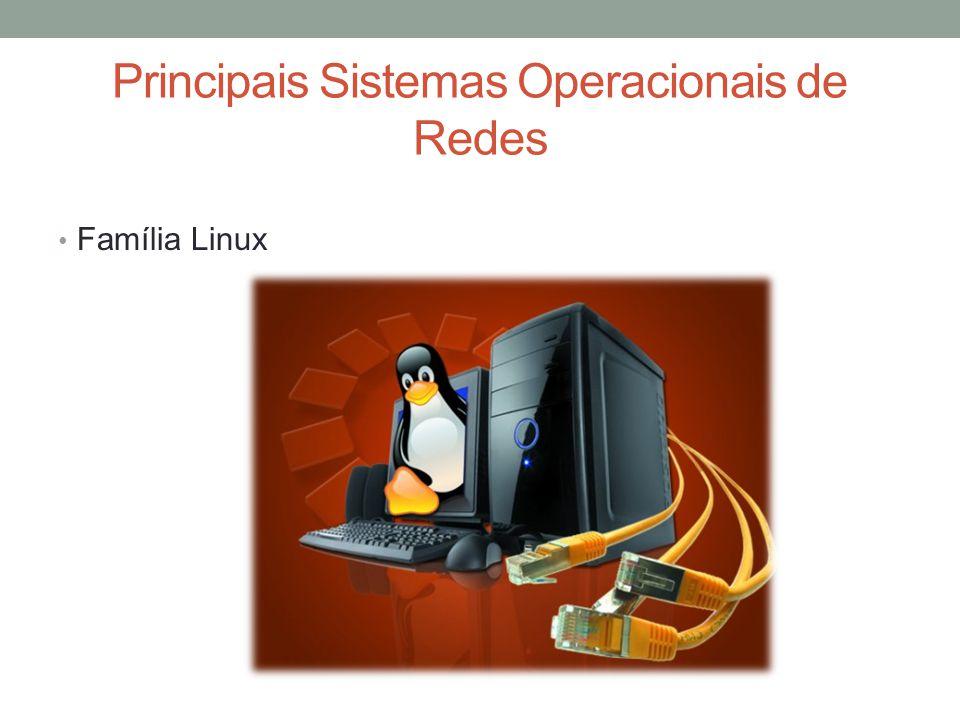 Principais Sistemas Operacionais de Redes