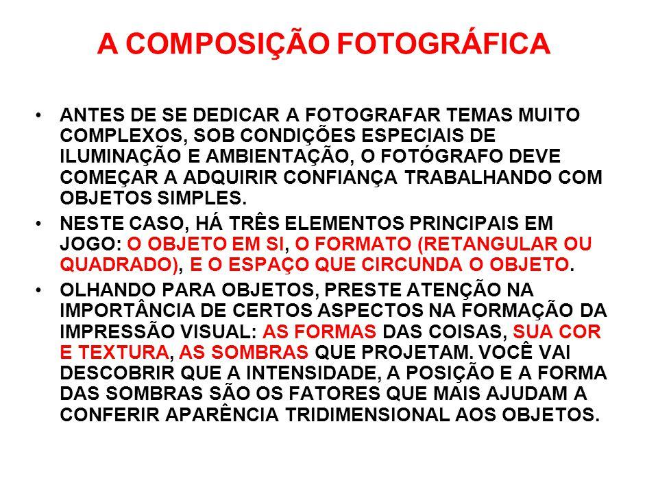 A COMPOSIÇÃO FOTOGRÁFICA