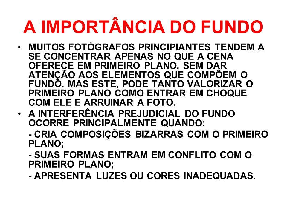 A IMPORTÂNCIA DO FUNDO