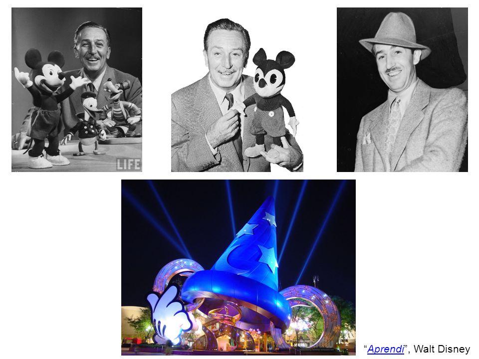 Aprendi , Walt Disney