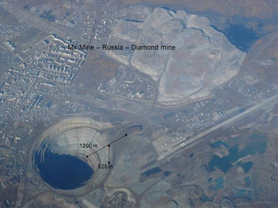 Mir Mine – Russia – Diamond mine