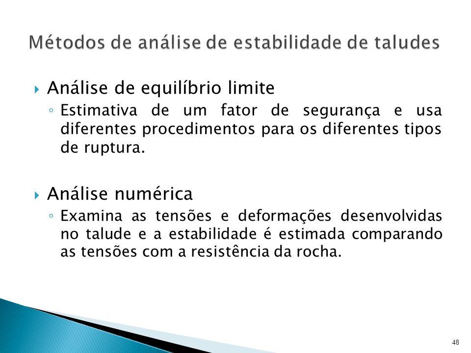 Métodos de análise de estabilidade de taludes
