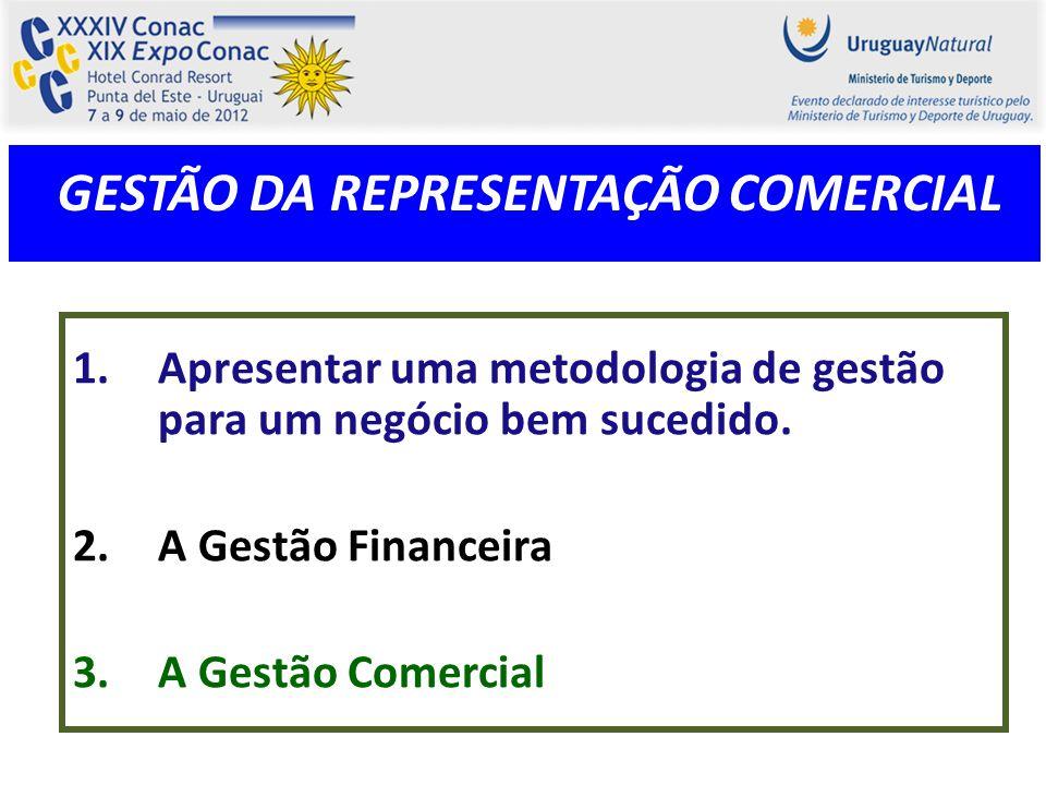 GESTÃO DA REPRESENTAÇÃO COMERCIAL