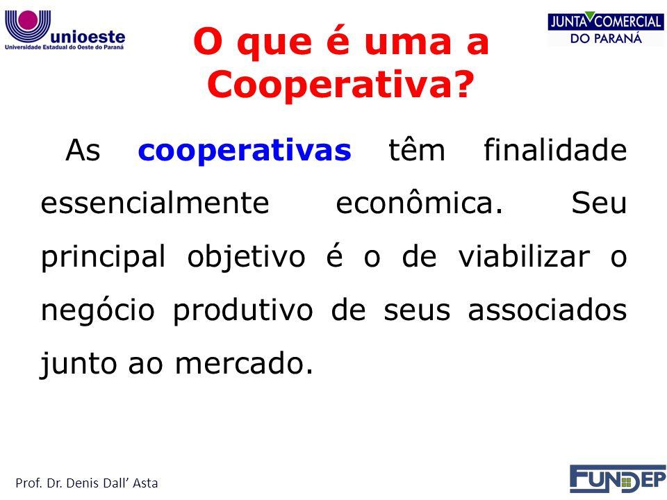 O que é uma a Cooperativa