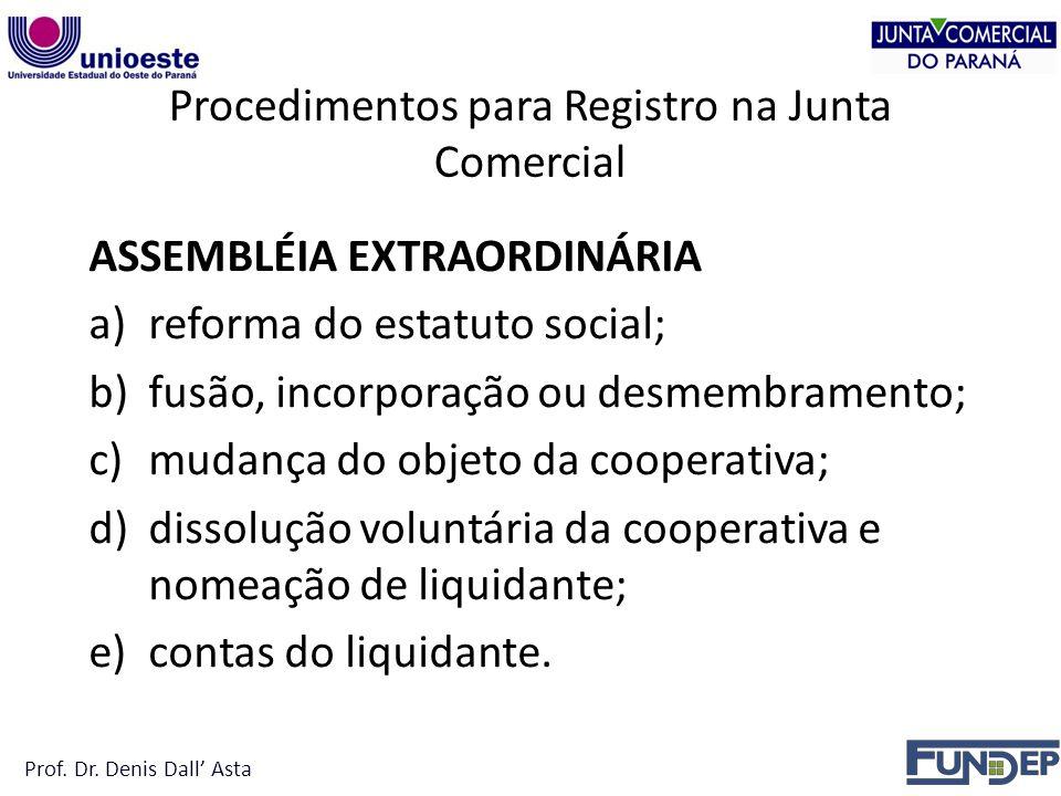 Procedimentos para Registro na Junta Comercial