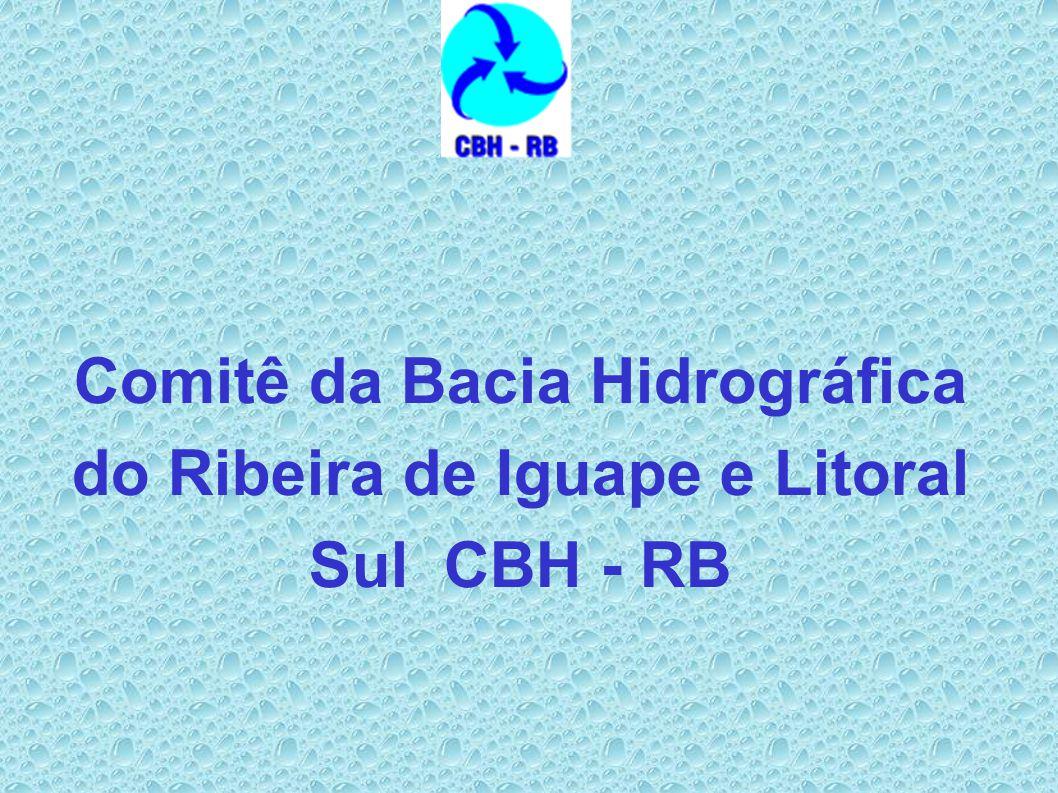 Comitê da Bacia Hidrográfica do Ribeira de Iguape e Litoral Sul CBH - RB