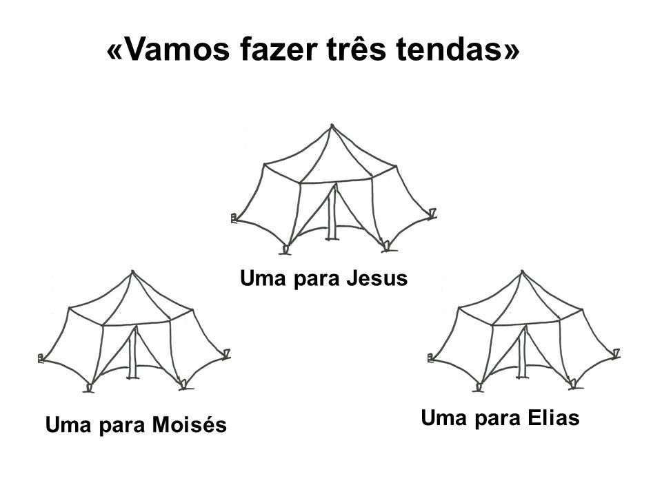 «Vamos fazer três tendas»