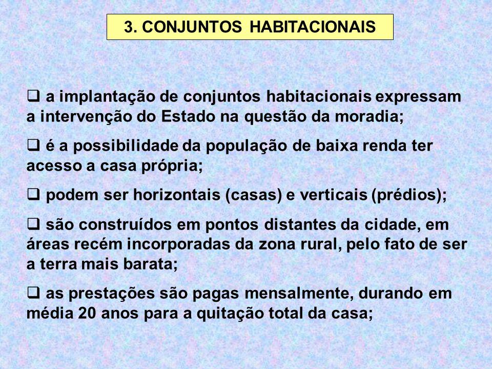 3. CONJUNTOS HABITACIONAIS