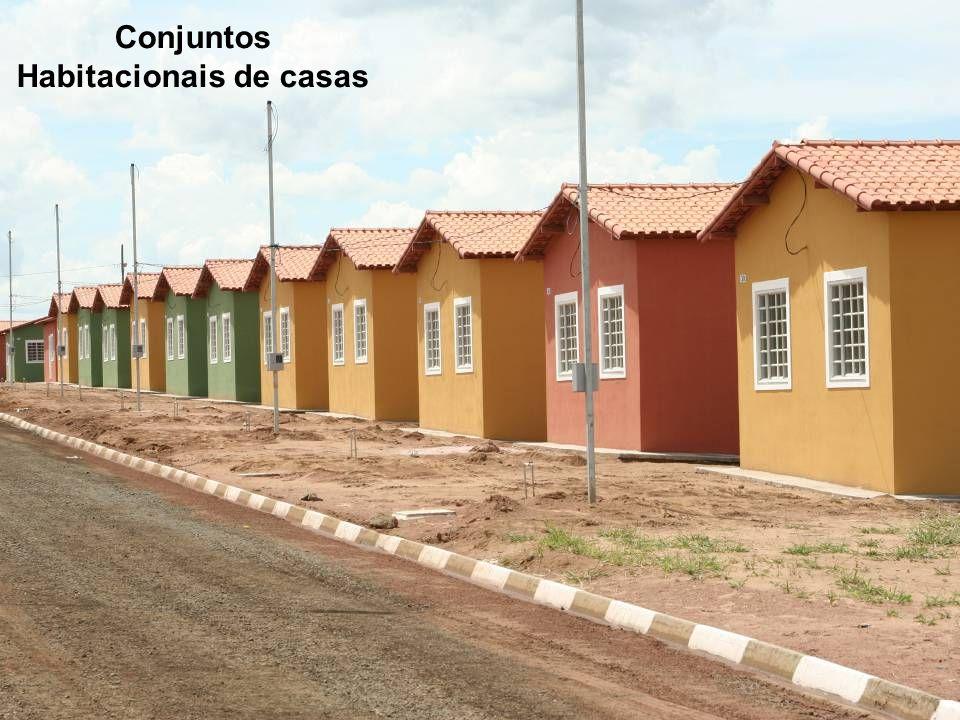 Conjuntos Habitacionais de casas