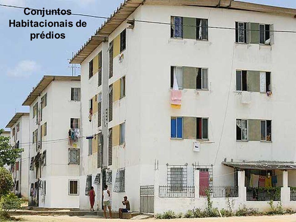 Conjuntos Habitacionais de prédios