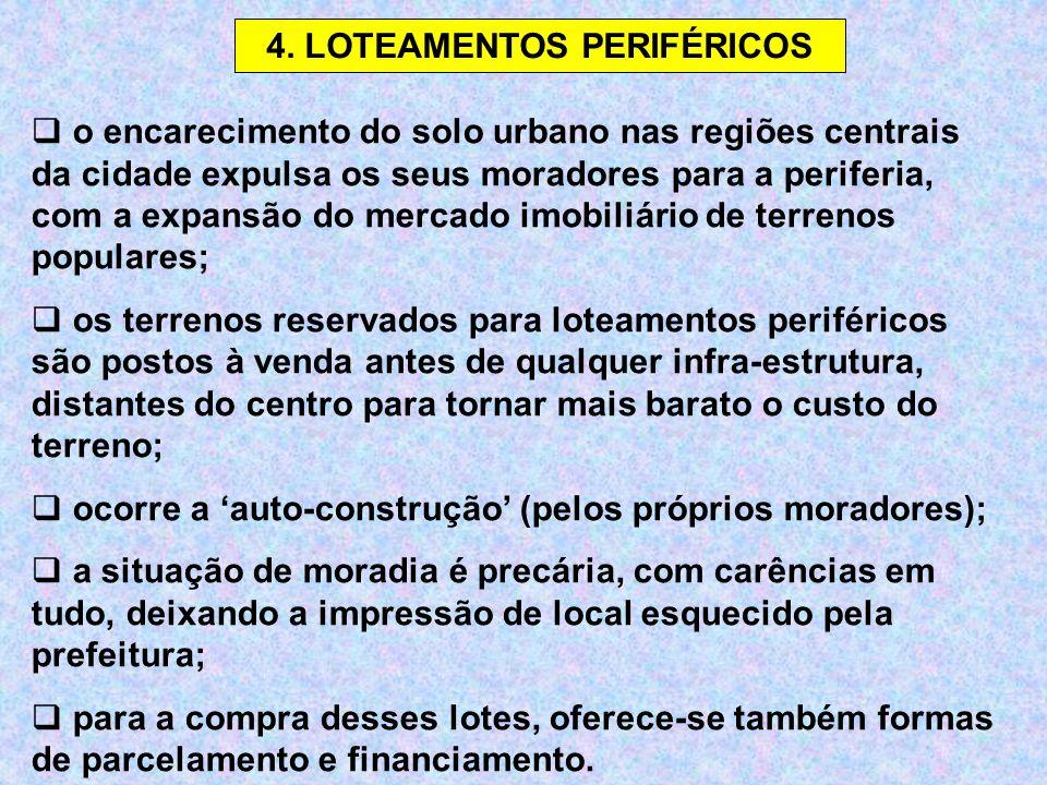 4. LOTEAMENTOS PERIFÉRICOS