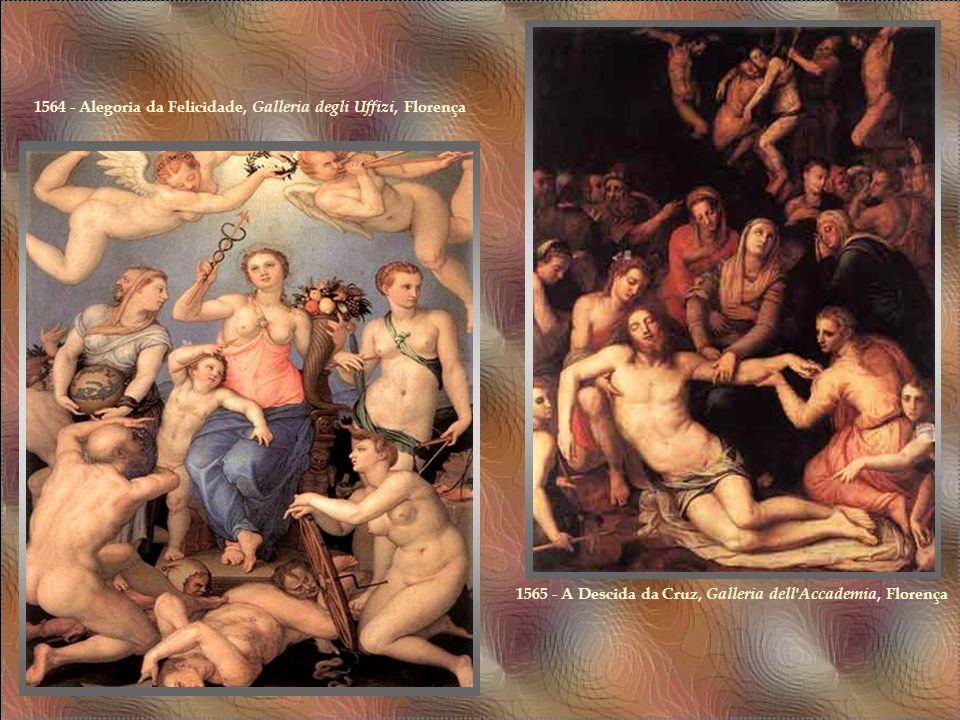 1564 - Alegoria da Felicidade, Galleria degli Uffizi, Florença