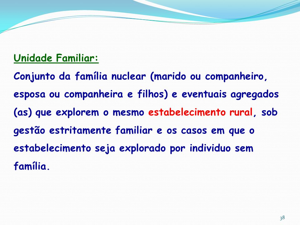 Unidade Familiar: