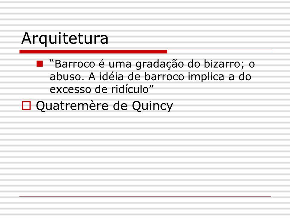 Arquitetura Quatremère de Quincy