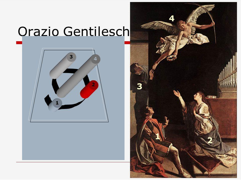 1 2 3 4 Orazio Gentileschi Stª Cecilia St. Valerianus St. Tiburtius