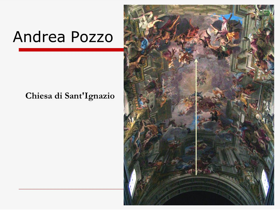 Andrea Pozzo Chiesa di Sant Ignazio