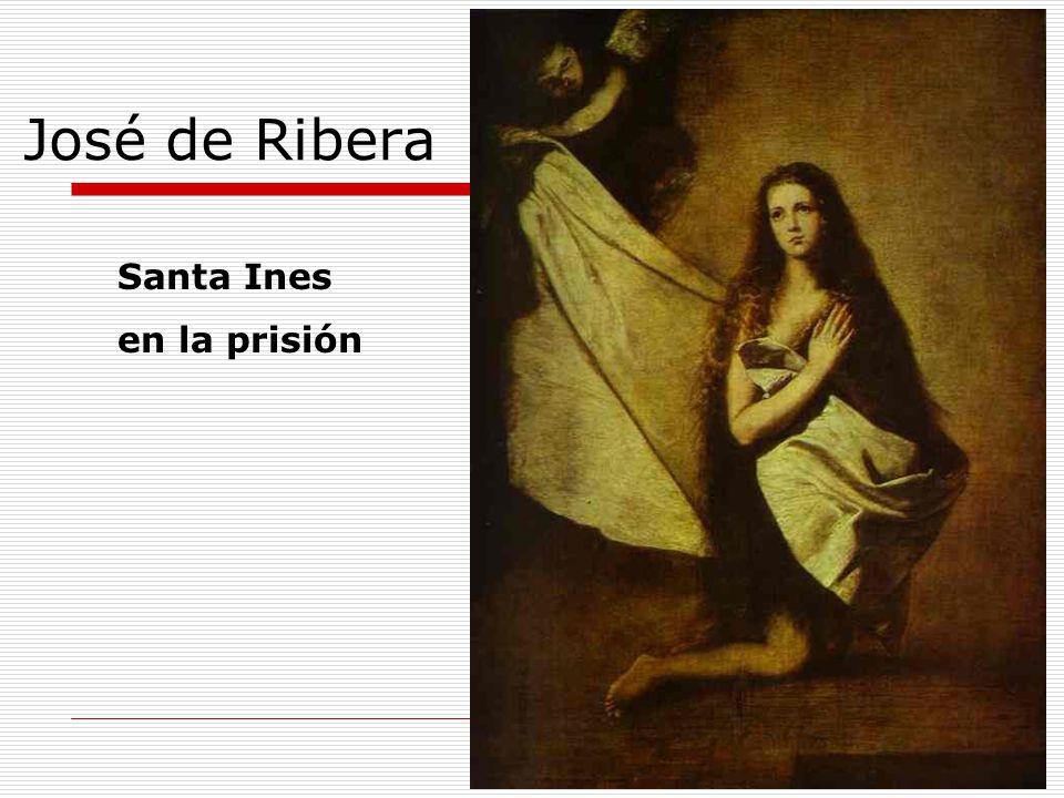 José de Ribera Santa Ines en la prisión