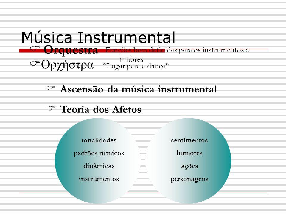 Música Instrumental Orquestra Oρχήστρα Ascensão da música instrumental