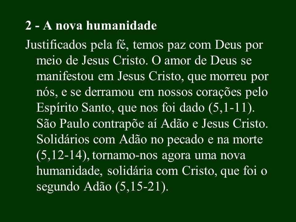 2 - A nova humanidade
