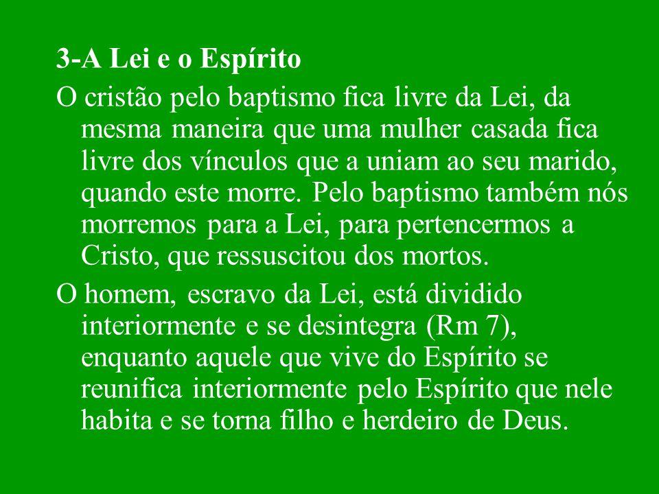 3-A Lei e o Espírito
